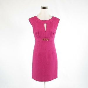 Dark pink TRINA TURK sheath dress 6